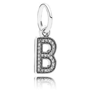 Authentic Pandora Alphabet Letter B Charm